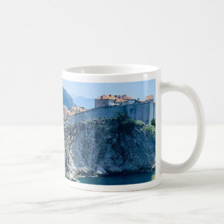 Dubrovniks alte Stadt Kaffeetasse
