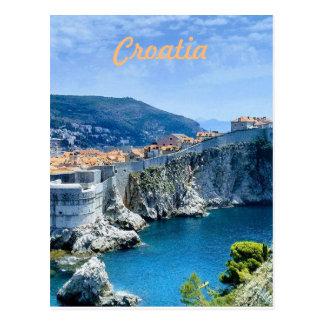 Dubrovniks alte Stadt Postkarte