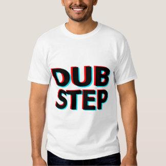 Dubstep 3D Text-Tollpatschschritt Tshirt