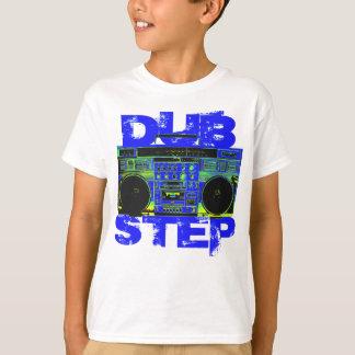 Dubstep Blau Boombox Hemden