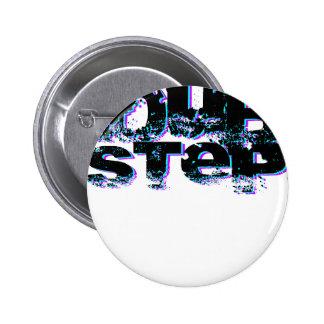 Dubstep blau und rosa runder button 5,7 cm