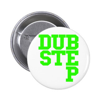 Dubstep Blockletter (Limon) Runder Button 5,1 Cm
