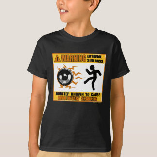 DUBSTEP, das extremen Baß warnt T-Shirt