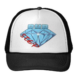 Dubstep Diamant Retrokultmützen