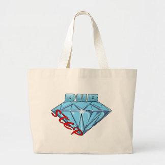 Dubstep Diamant Einkaufstaschen