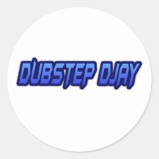 DUBSTEP DJAY RUNDER STICKER