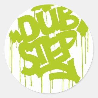 Dubstep FatCap Limon Runder Sticker