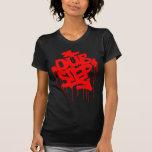 Dubstep FatCap Rot T-shirt