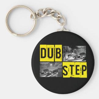Dubstep Keychain Standard Runder Schlüsselanhänger