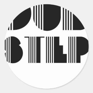 Dubstep Klassiker Runder Sticker