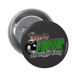 DUBSTEP Knopf-Button Runder Button 5,7 Cm