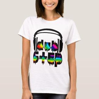 Dubstep Kopfhörer T-Shirt
