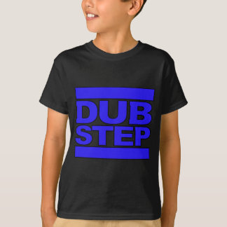 DUBSTEP Logoblau T-Shirt