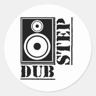 Dubstep Loudspeaker B Stickers