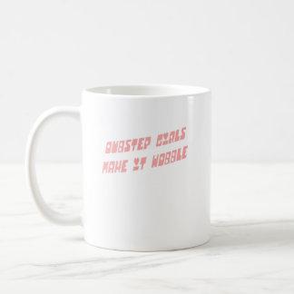 Dubstep Mädchen Wobble Kaffeetasse