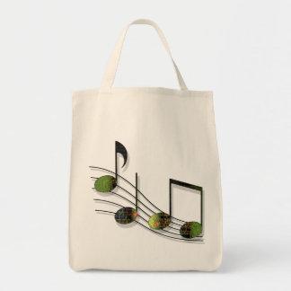 Dubstep merkt helle Taschen-Tasche Einkaufstasche