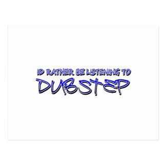 Dubstep mischen Dubstep Musikdownload dubstep Postkarte