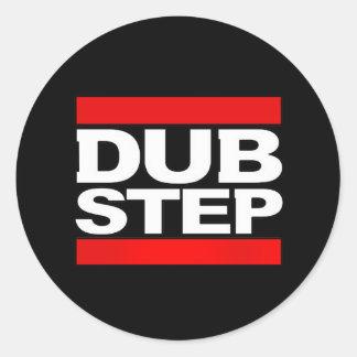 dubstep mischen-dubstep Radio-freies dubstep-kode9 Runder Aufkleber