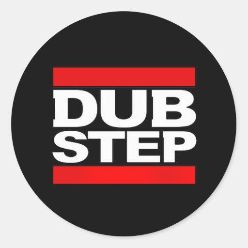 dubstep mischen-dubstep Radio-freies dubstep-kode9 Runder Sticker
