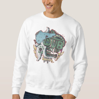 Dubstep Monster-Sweatshirt Sweatshirt