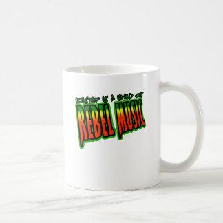 Dubstep Rebellenmusik Kaffeetasse