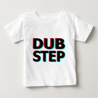 Dubstep schmutziger Tollpatschschritt Bass-techno Baby T-shirt