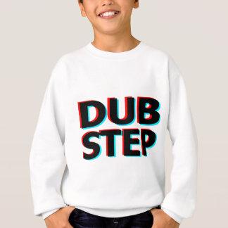 Dubstep schmutziger Tollpatschschritt Bass-techno Sweatshirt
