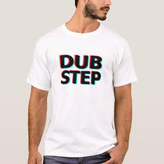 Dubstep schmutziger Tollpatschschritt Bass-techno T-Shirt