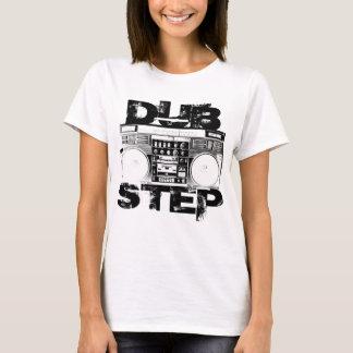 Dubstep schwarzes Boombox T-Shirt