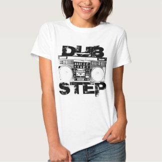 Dubstep schwarzes Boombox Tshirts