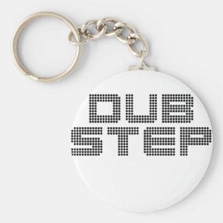 Dubstep Standard Runder Schlüsselanhänger