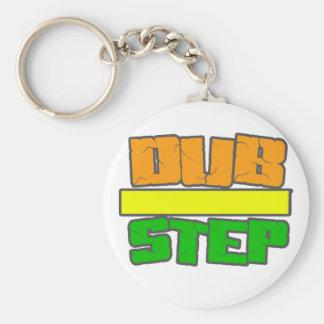 DUBSTEP Stylee Standard Runder Schlüsselanhänger