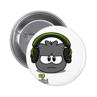 Dubstep T-Stück Runder Button 5,1 Cm