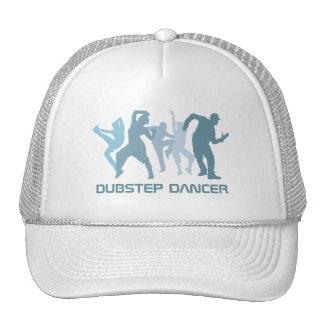 Dubstep Tänzer-Illustration Retrokultmütze