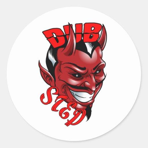Dubstep Teufel Stickers