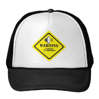 Dubstep Warnung Baseballcaps
