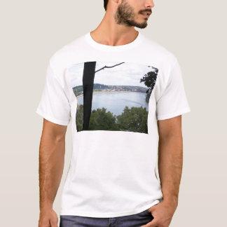 Dubuque Iowa auf dem Fluss Mississipi T-Shirt