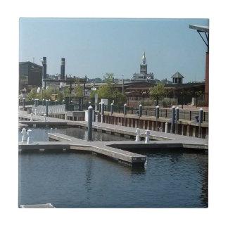 Dubuque, Iowa-Eis-Hafen, Fluss Mississipi Fliese