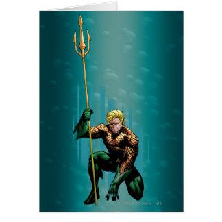 Duckendes Aquaman Karte
