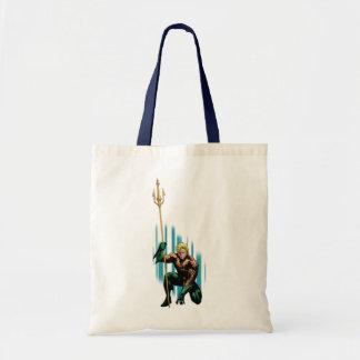 Duckendes Aquaman Budget Stoffbeutel