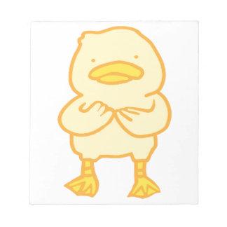 "Ducky 5,5"" x 6"" Notizblock"