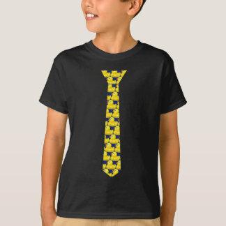 Ducky Krawatten-T-Shirt (dunkel) T-Shirt