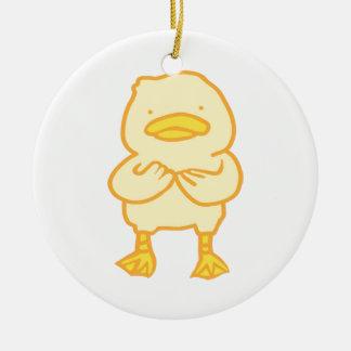 Ducky Kreis-Verzierung Keramik Ornament