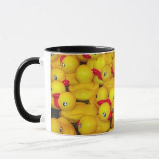 Ducky Musterkaffee-GummiTasse Tasse