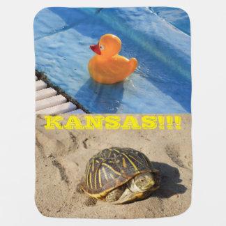 Ducky/Schildkröte-Baby-Gummidecke!!! Puckdecke