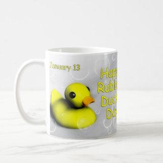 Ducky TagesTasse Gummi~ am 13. Januar Kaffeetasse