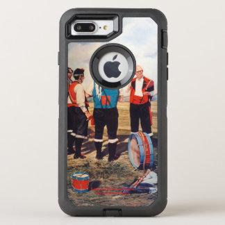 Dudelsackspieler/Gaiteiros/Pipers OtterBox Defender iPhone 8 Plus/7 Plus Hülle