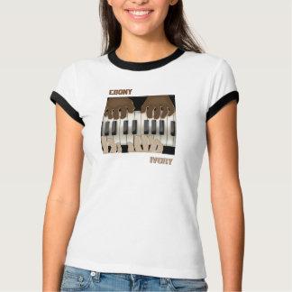 Duelltastaturen - Ebenholz u. Elfenbein T-Shirt