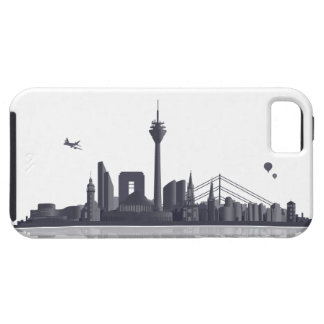 Duesseldorf skyline iPhone 5 sleeve/Case Etui Fürs iPhone 5