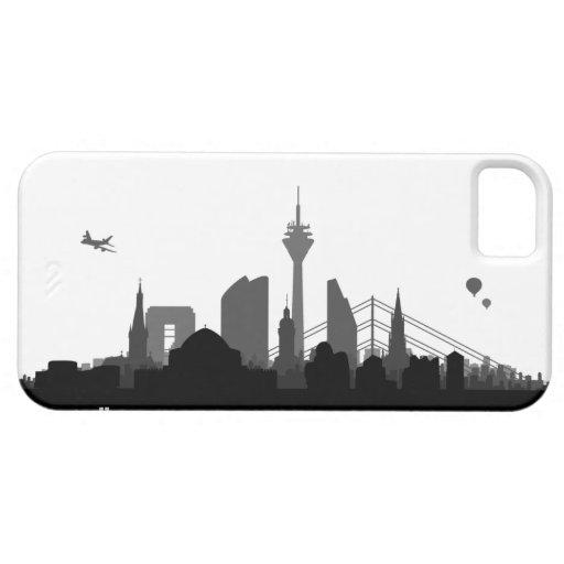 Duesseldorf skyline iPhone 5 sleeve/Case iPhone 5 Hüllen